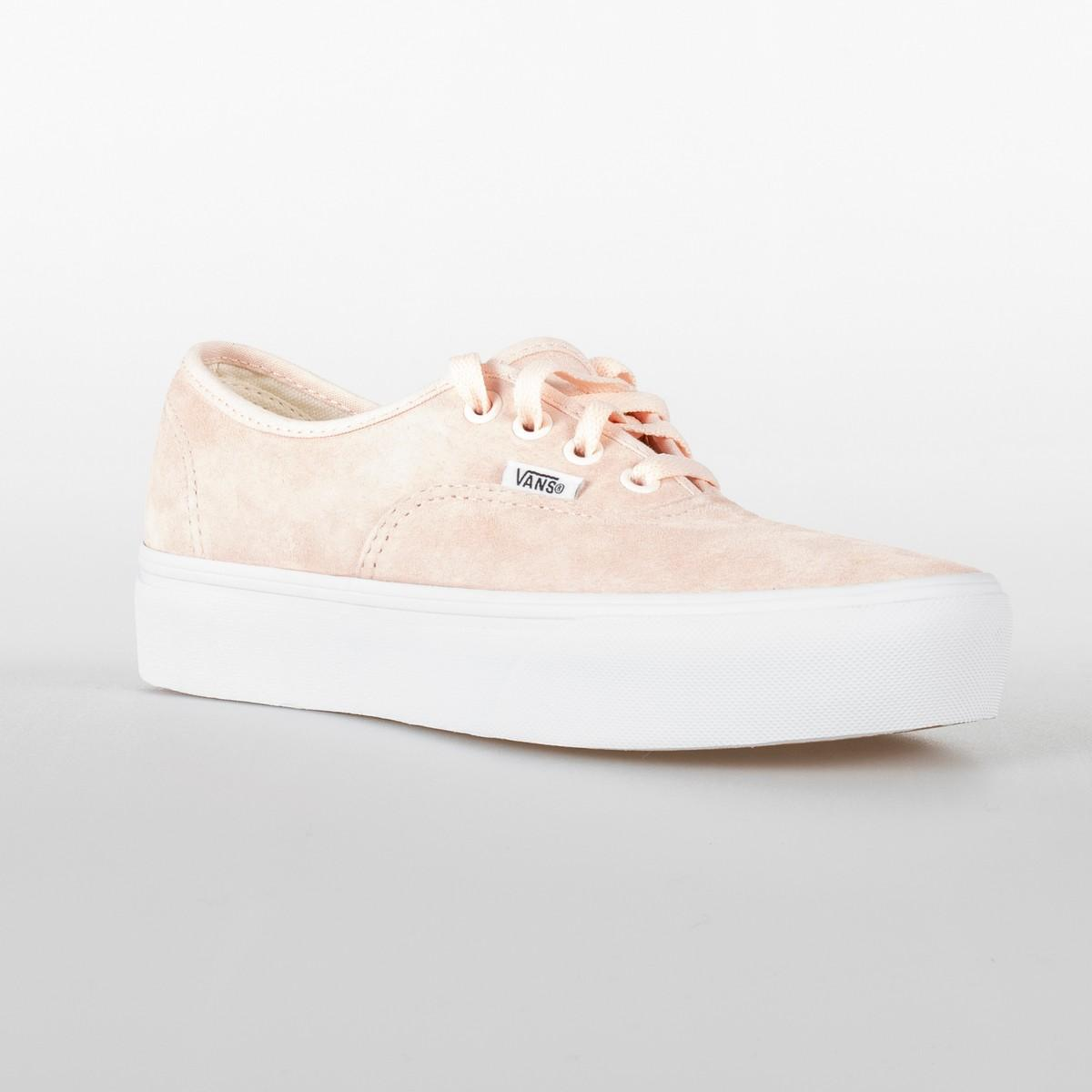 SCARPA DONNA VANS AUTHENTIC PLATFOR VN0A3AV8S3M PALE DOGWOOD