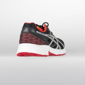 SCARPA UOMO ASICS GEL-CONTEND 3 T5F4N 9091 NERO ARGENTO ROSSO