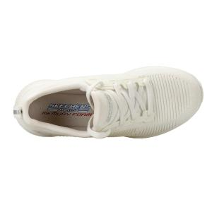 SCARPA DONNA BOBS SPORT SKECHERS PHOTO FRAME 31362-WHT BIANCO