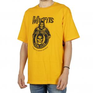T-SHIRT UOMO OBEY MISFITS 221180236M GOLD