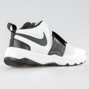 SCARPA DONNA NIKE 881941 100 TEAM HUSTLE D 8 (GS) WHITE BLACK