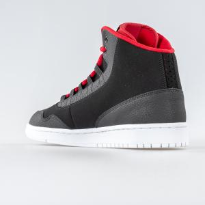 SCARPA UOMO NIKE JORDAN EXECUTIVE 820240 001 BLACK RED