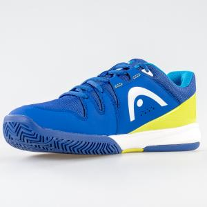 SCARPA UOMO HEAD TENNIS PERFORMANCE 273418 075 BLUE GREEN