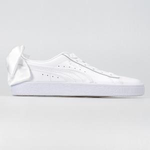 SCARPA DONNA PUMA BASKET BOW WN'S 367319 01 WHITE
